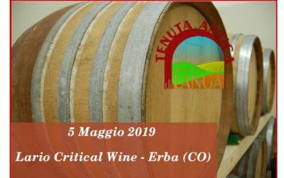 5 Maggio – Lario Critical Wine