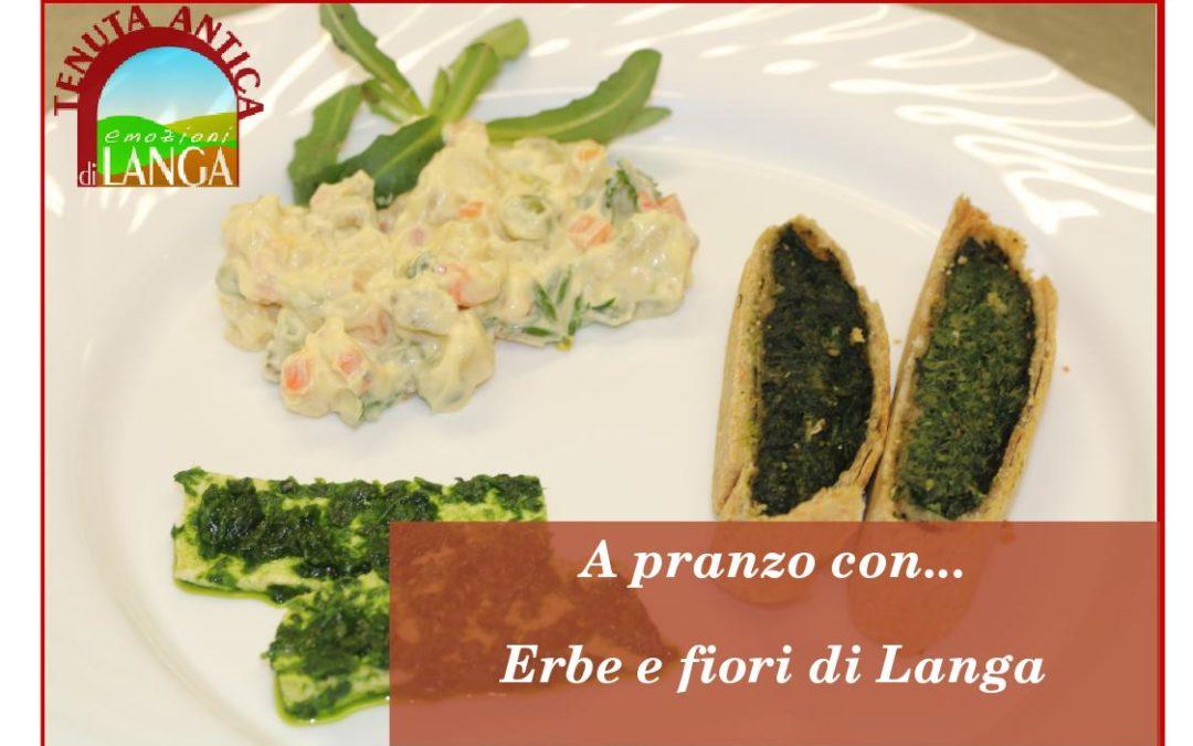 12 Maggio – A pranzo con ..erbe e fiori di Langa