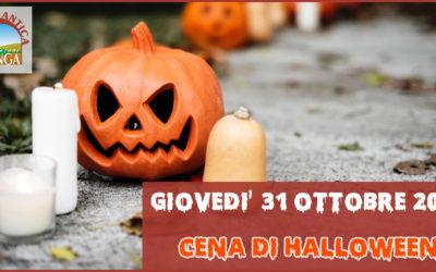 Giovedì 31 Ottobre – Cena di Halloween