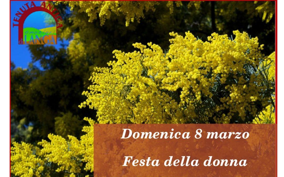 Domenica 8 Marzo: Evento Sunshine per la festa della Donna